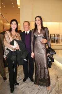 Edwige Fenech Sergio Valente e Arianna Marchetti
