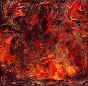 bogliacino-vulcano-a-2000-40x40-miste-su-tela