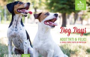 E' arrivato DOG DAYS, il calendario benefico 2014 di Milano Zoofila Onlus