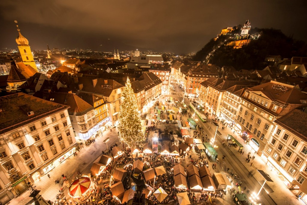 Eroeffnung Grazer Advent 01.12.2012  Foto Fischer Herrengasse 7, 8010 Graz, Tel.: 0316/ 82 53 22, Mail: studio@fotofischer.at
