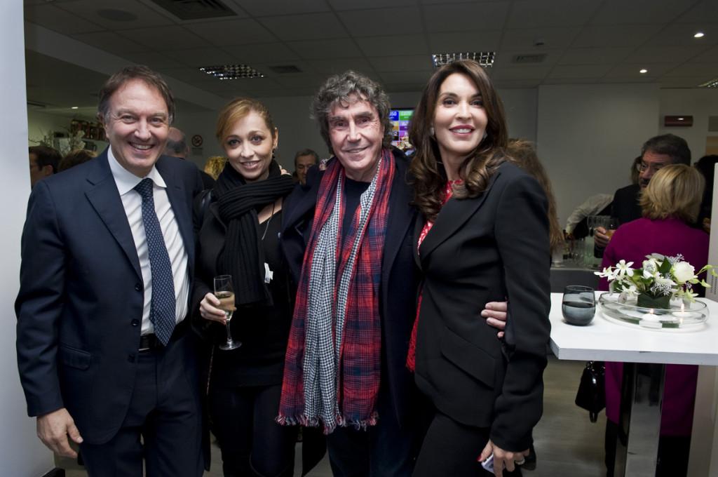 Prof. Fabio Cerza, Tiziana Giardoni, Stefano D'Orazio, Francesca Romana Malato