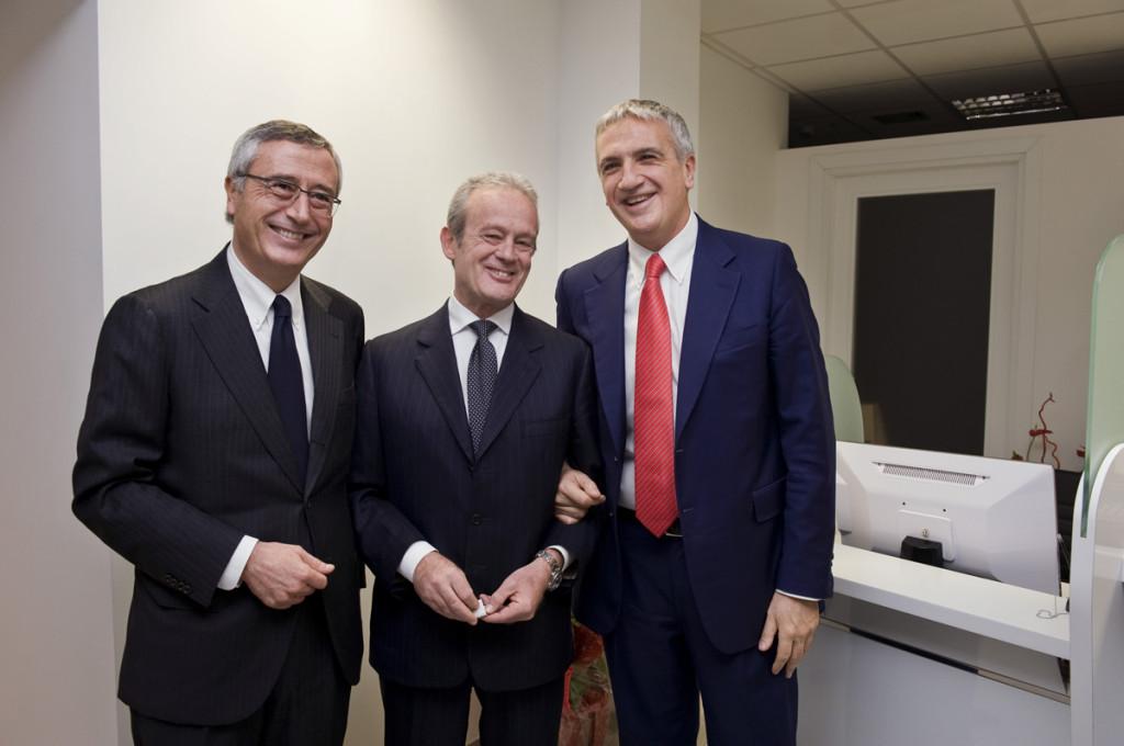 Raffaele Ranucci, Alfredo Antoniozzi, Luciano Ciocchetti