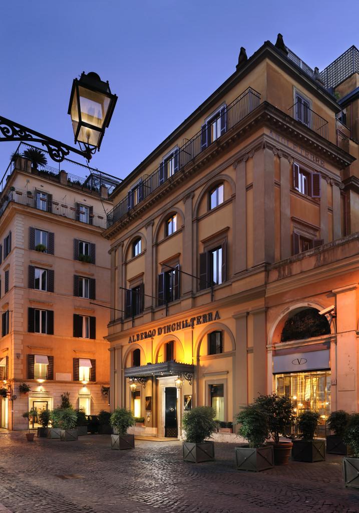 Hotel Inghilterra Esterno
