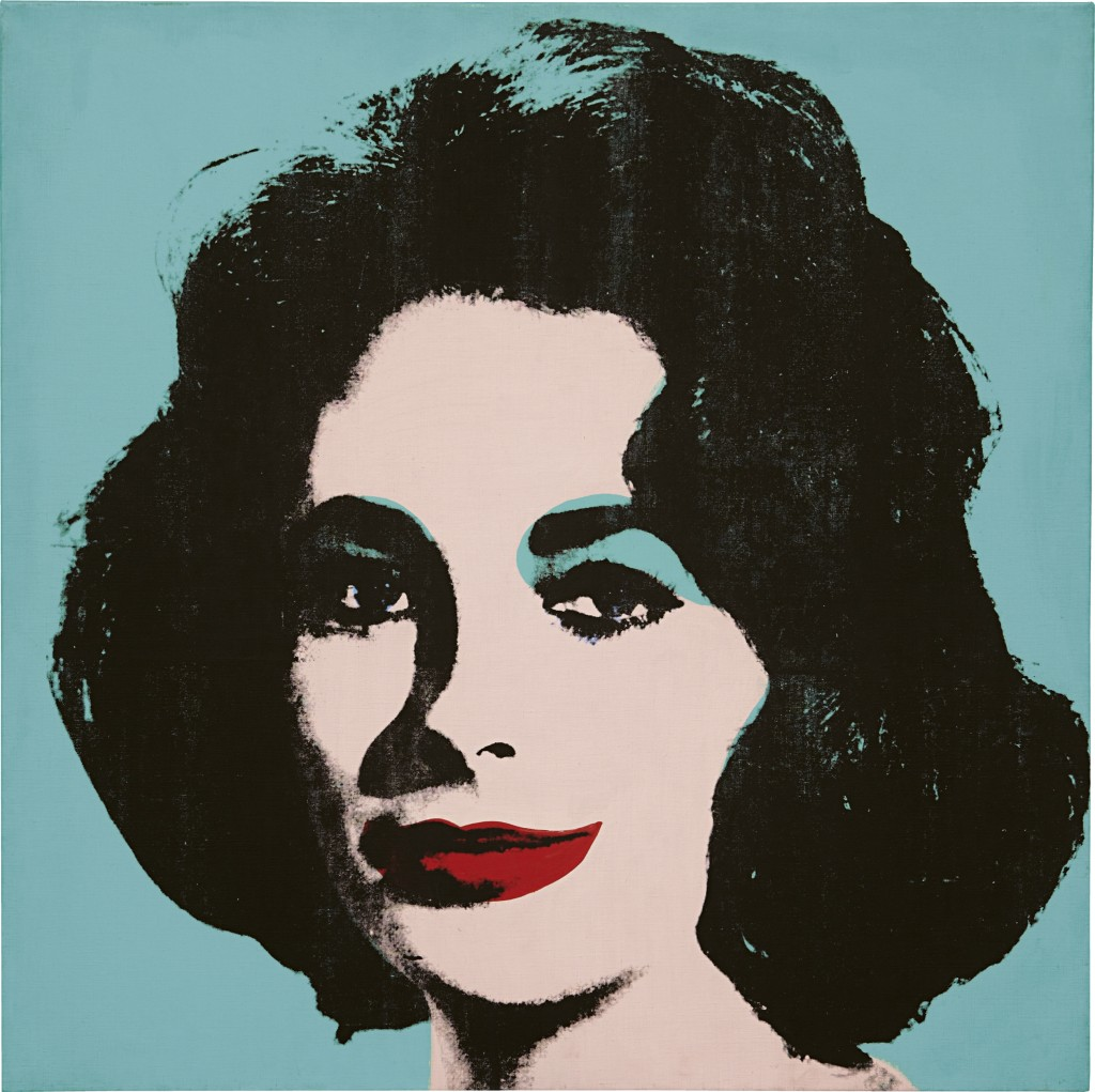 Andy Warhol Liz #5 (Early Colored Liz) 1963 Collezione Brant Foundation  © The Brant Foundation, Greenwich (CT), USA © The Andy Warhol Foundation for the Visual Arts Inc. by SIAE 2013