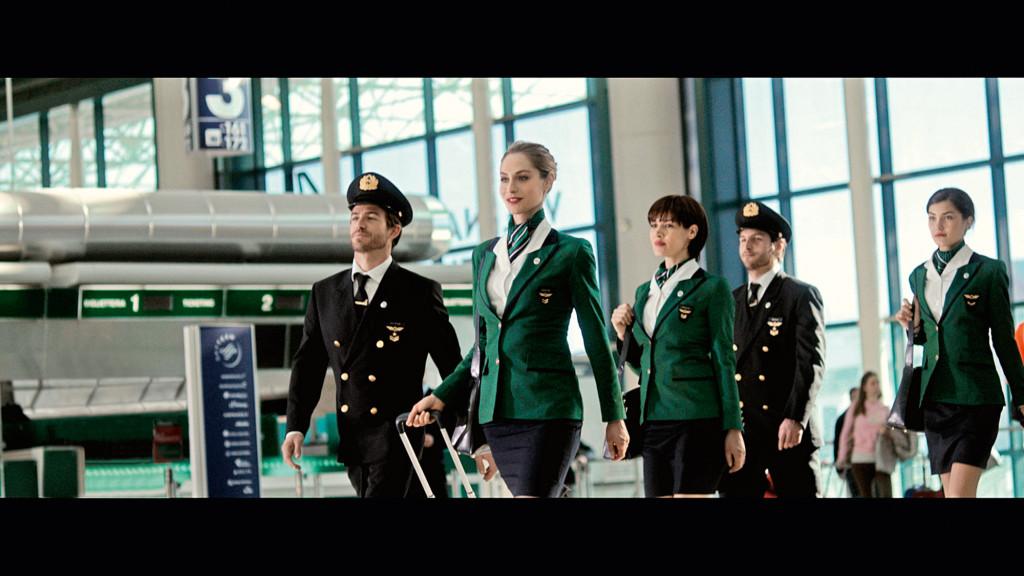 frame spot Alitalia