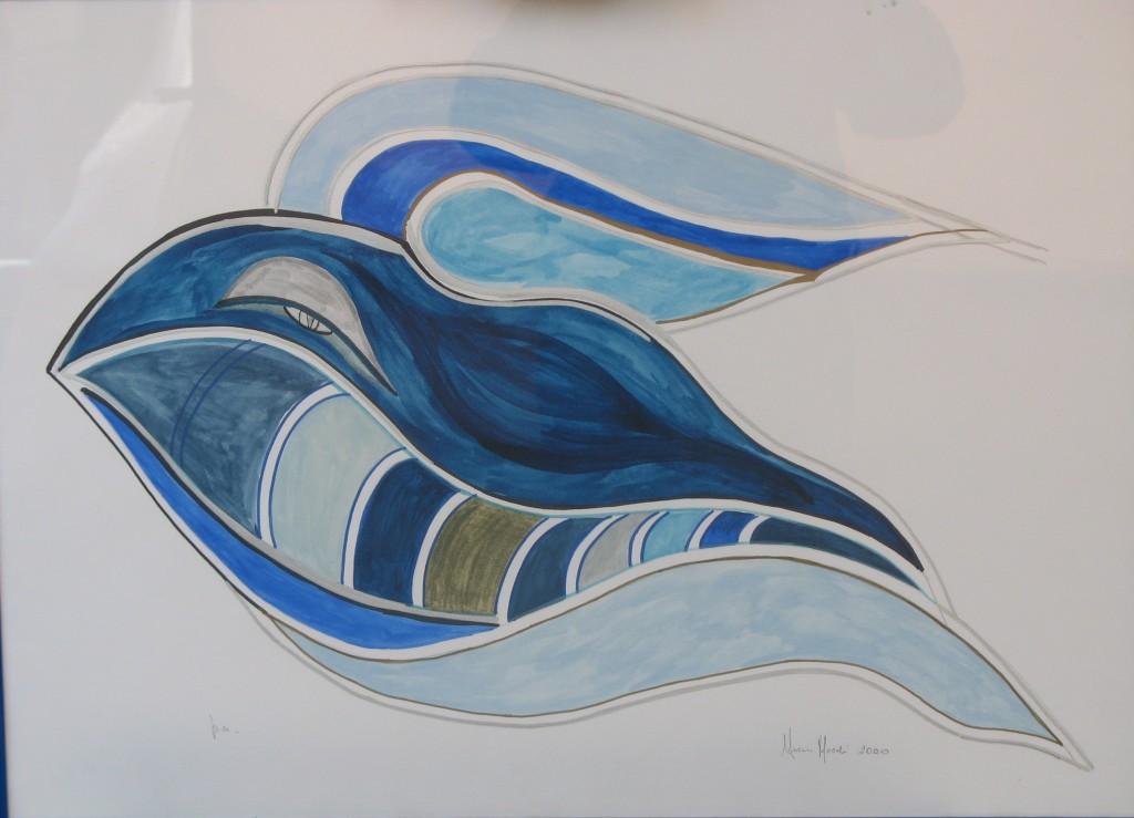 Nuccia Amato Mocchi Orca azzurra