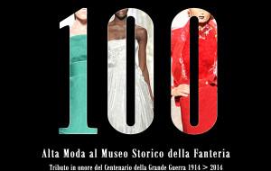 """""""100"""" Alta Moda al Museo Storico della Fanteria, un evento unico per non dimenticare."""