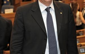 Armando Zambrano in rappresentanza della RPT ricevuto dal Sottosegretario all'Economia Zanetti.