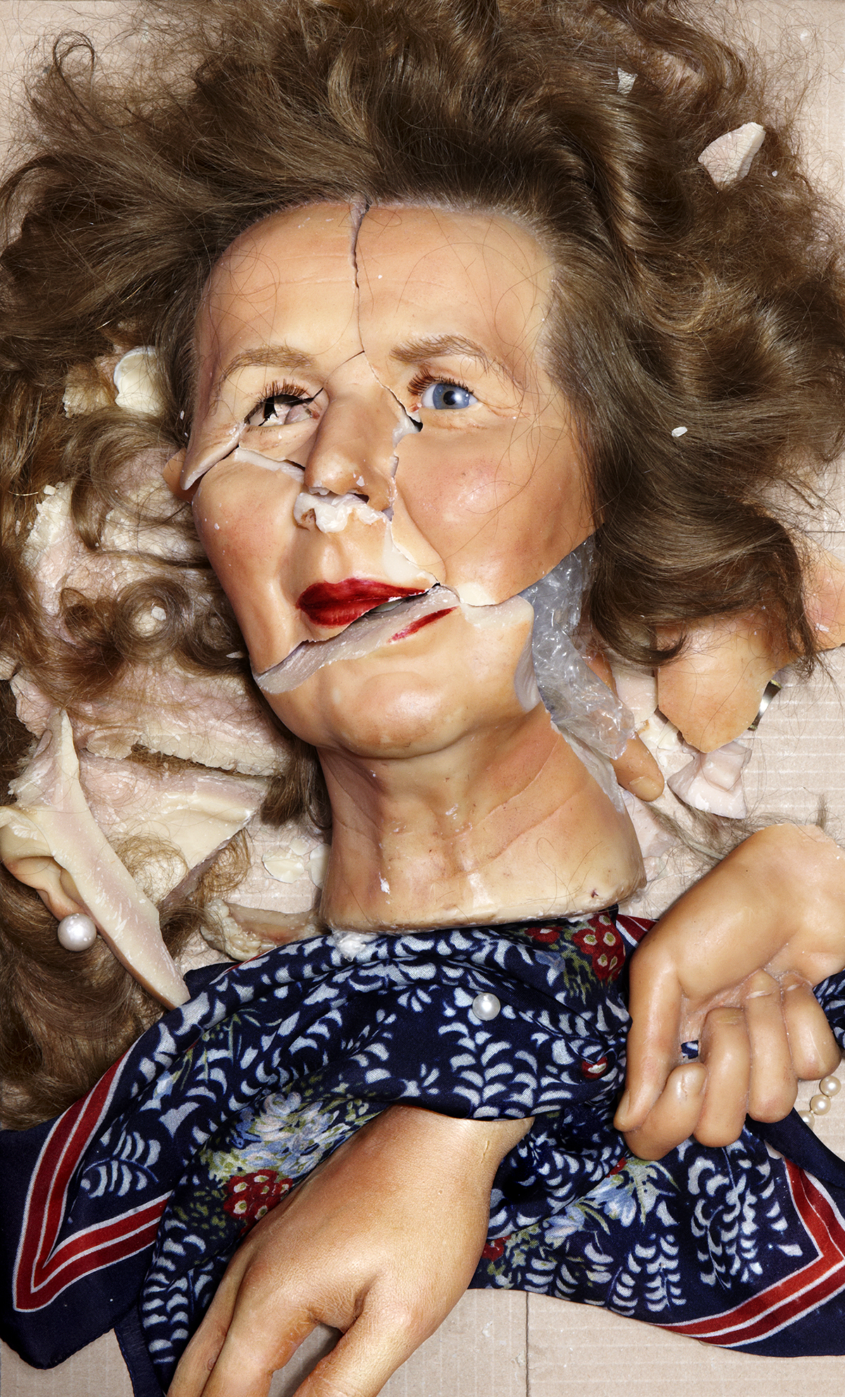 LACHAPELLE_15 Margaret, 2012 Chromogenic Print ©David LaChapelle