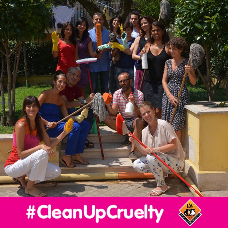 Foto campagna petizione vivisezione