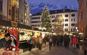 In scena per Voi  i mercatini di Natale di Innsbruck: romantici, scintillanti, bellissimi!