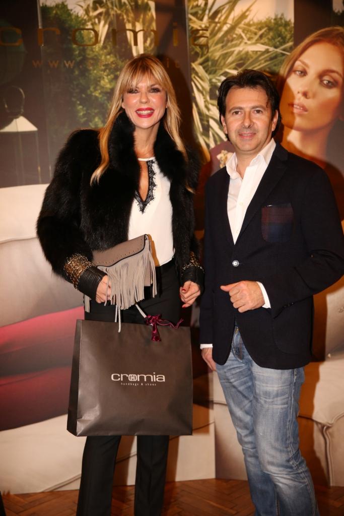 Matilde Brandi con Sergio Sciamanna