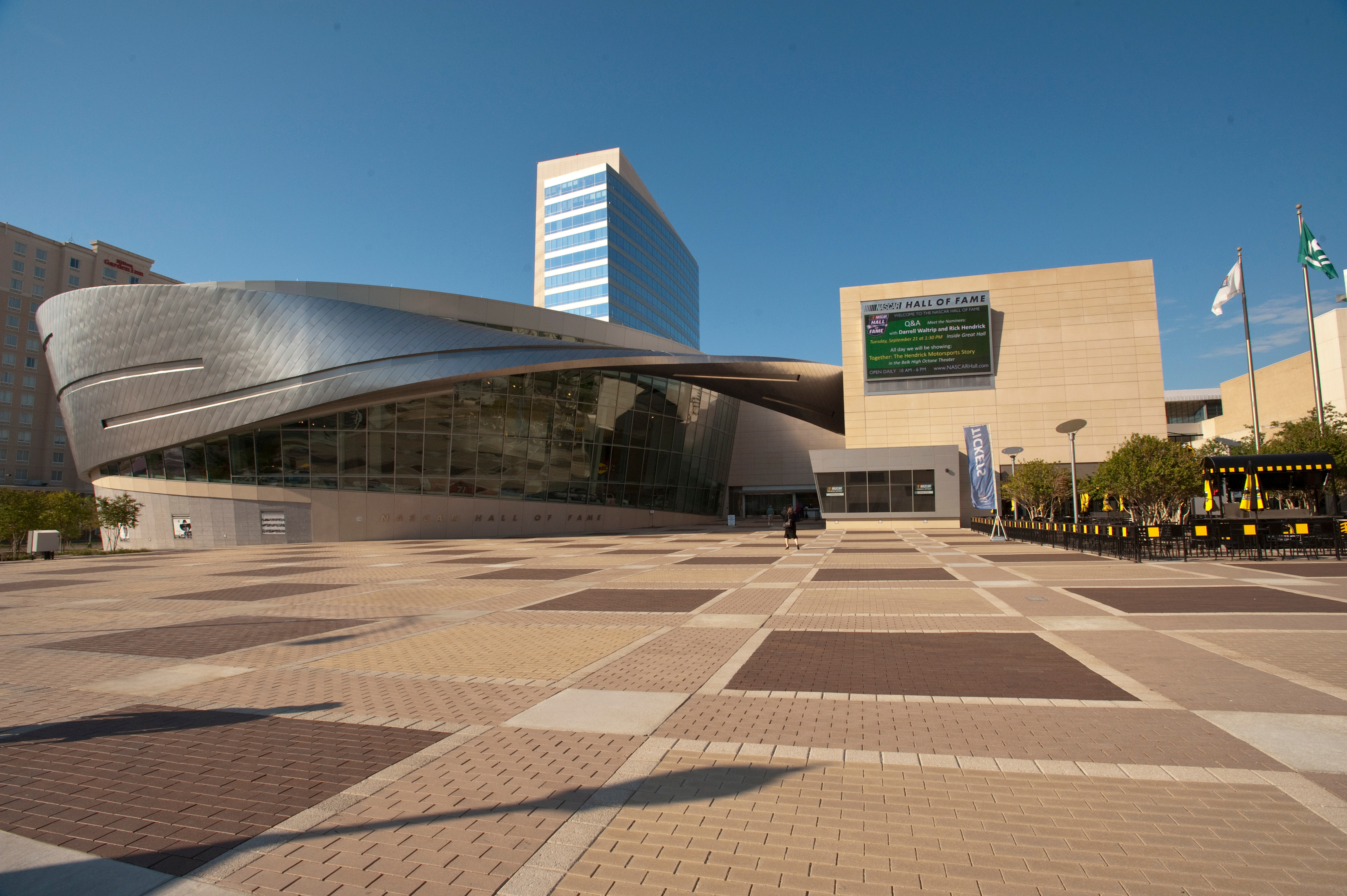 NASCAR Hall of Fame Outside View