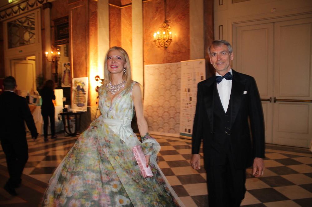 Maria Grazia Tetti el'ex Ambasciatore d'Austria Cristian Berlakovits