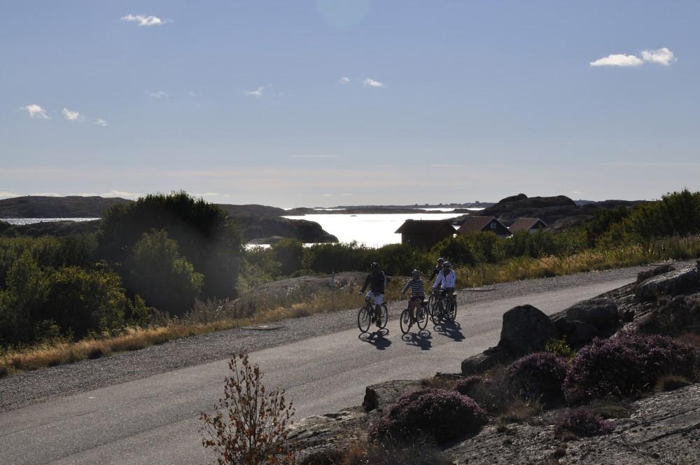 in bici lungo la costa_H+ñllevikstrand_foto Karin_Gesouli