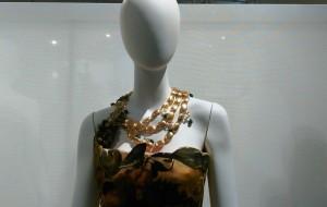 """Marina Corazziari alla Mostra """"L'Eleganza del Cibo"""" di New York."""