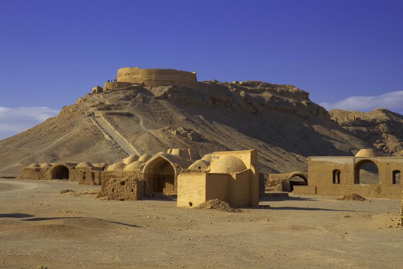 Viaggigiovani.it - Zoroastrian Tower of Silence on the border of Yazd.jpg