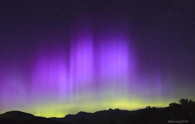 Vi presentiamo le Northen lights nella RealAmerica