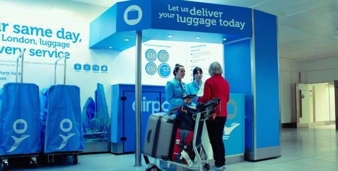 AirPortr, il nuovo servizio di trasporto bagagli aeroportuale che si avvale delle telecamere Sony