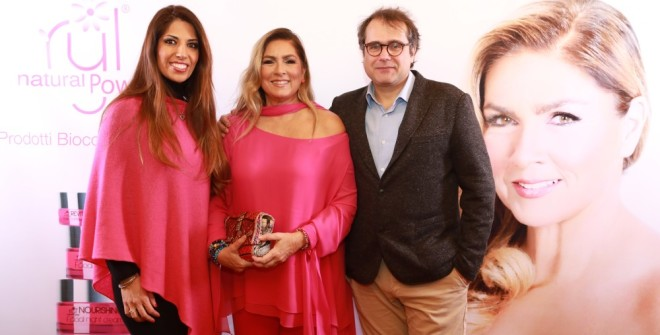 ROMINA POWER , la sua nuova linea  BioCosmetica 100% green e made in Italy