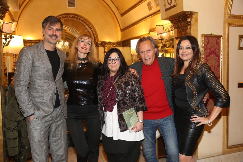 Beppe Convertini, Rita Carlini, Marilù S. Manzini, Gaetano Russo e Deborah Bettega[4233]